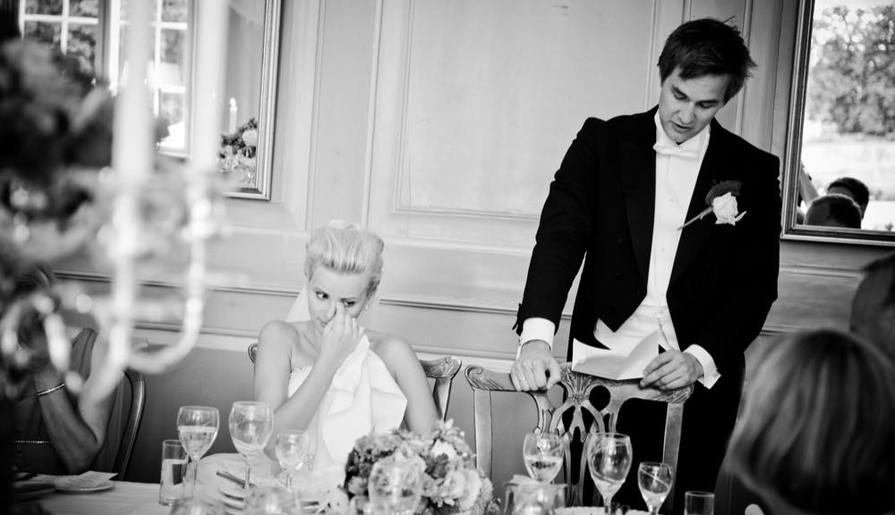 brudgommens tale til bryllup
